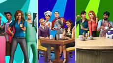 Acheter The Sims 4 Bundle Get To Work Dine Out Cool