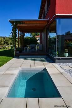 mini pool terrasse saunatauchbecken im garten minipool tauchbecken mini