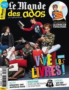 Le Monde Des Ados Le Magazine Qui D 233 Crypte L Actu