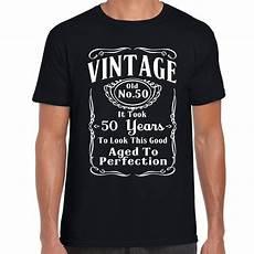 grabmybits vintage 50th birthday t shirt gift