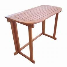 Gartentisch Klappbar Holz - balkontisch aruba klappbar 100x50cm gartentisch klapptisch