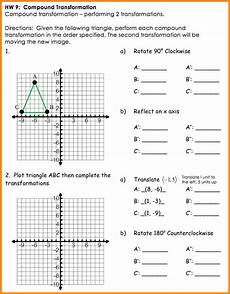 composition of transformations worksheet movetoexcel com