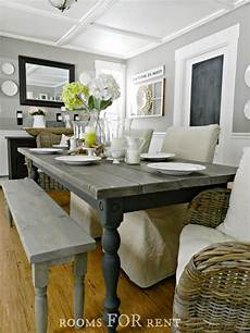 rooms for rent our new farmhouse dining table diy rockstar ideas dining room table
