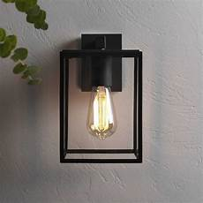 astro lighting 7389 box black exterior wall light 1354003