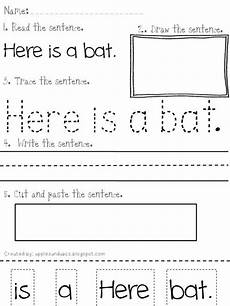 writing sentences from pictures worksheets 22214 ell time reading and writing simple sentences use this template to make similiar worksheets