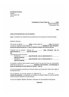 lettre de contestation d amende lettre de contestation de majoration d une amende pour non