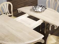 table ovale avec rallonge chene massif table ronde maude pieds central diametre 140 en ch 234 ne