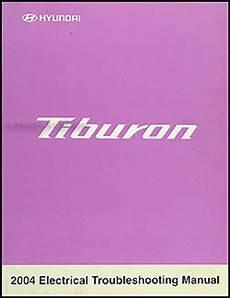 2004 hyundai tiburon repair shop manual original 2004 hyundai tiburon electrical troubleshooting manual original