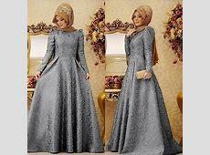 Baju Gamis Long Dress Muslim Perempuan Modern Model