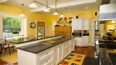 kitchen design cozy and bright yellow kitchens ideas