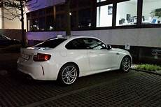 bmw m2 in alpine white spotted again