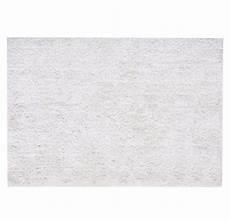 hochflor teppich aus stoff 140 x 200 cm ecru polaire