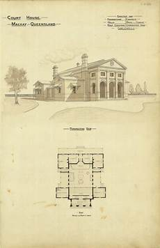 house plans mackay architectural plan of the court house mackay q album