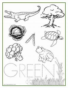 color green worksheets for preschool 12861 green color activity sheet