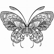 fantastic butterfly coloring page butterfly coloring