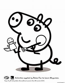 Malvorlagen Peppa Wutz Toys George Peppa Pig Coloring Pages Printable
