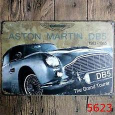 Metal Tin Sign Aston Martin Db5 Bar Pub Home Vintage Retro
