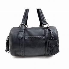 sac noir sac a lancel premier flirt bowling en cuir noir