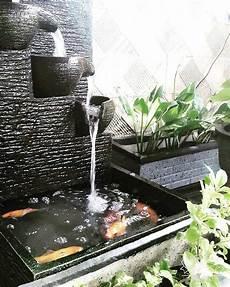 6 Desain Air Terjun Kolam Ikan Untuk Di Rumah Rumahlia