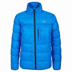 trespass mens bismarck insulated jacket bright blue mens from great outdoors uk