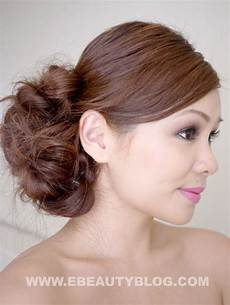 bridal messy side bun hair tutorial pictures photos and