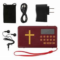 Bible Audio Books Player Speaker King by Rechargeable Bible Audio Player Electronic Bible Talking