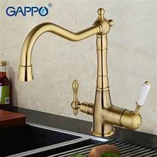 kitchen faucets brass gappo water filter faucet torneira kitchen faucet bronze antique brass kitchen sink mixer tap