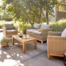 Un Salon De Jardin Design Et 233 L 233 Gant Leroy Merlin