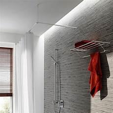Duschvorhangstange Aus Edelstahl F 252 R Die Bad Gestaltung