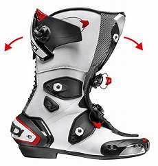 motorcycle boots sidi mag 1 air black white vented