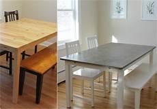 tisch selber machen tisch in betonoptik selber machen ideen mit effektspachtel