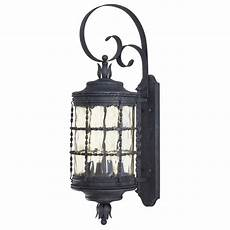 outdoor wall light with clear glass in iron finish 8882 a39 destination lighting