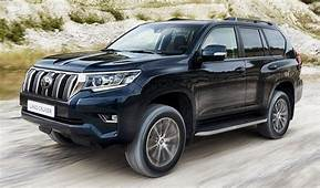 2018 Toyota Land Cruiser Prado Facelift Unveiled