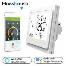 Minco Heat Programmable Smart Thermostat Digital by Wifi Smart Programmable Heating Thermostat Temperature