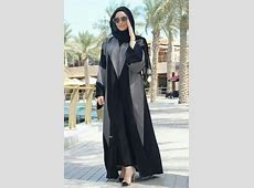 Reasonable Stylish abayas in dubai 2018 Collection (14