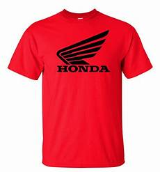honda t shirt honda racing motocross atv t shirt black logo s 5xl