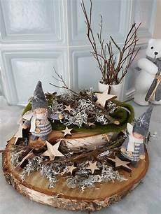 Weihnachtsdeko Aus Holz Selbst Gemacht - holz mit wichtel und islandmoos vianočnė boxy