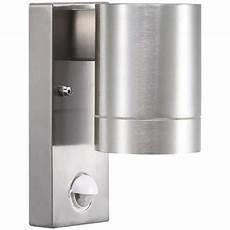 nordlux tin maxi 21509129 aluminium wall light with sensor outdoor wall light outdoor