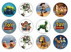 toy story edible cupcake toppers 12 for sale in dalkey dublin from flour power