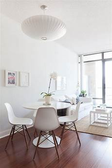 living and signy s well curated condo house tours table and chairs