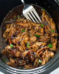 easy slow cooker honey garlic chicken chef savvy