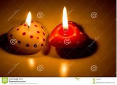 candele a cuore candele a forma di cuore immagine stock immagine di