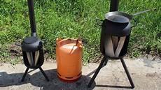 gasflasche ofen bauen gro 223 er outdoor ofen aus gasflasche selber bauen