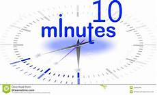 in 10 minuten 10 minutes stock images image 22890394