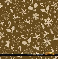 merry christmas seamless pattern vector free download