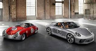 Porsche Revives The Speedster As A 70th Birthday Present