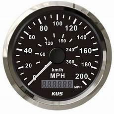 300 Mph In Kmh - 200mph car vehicle stainles gps speedometer 300 km h