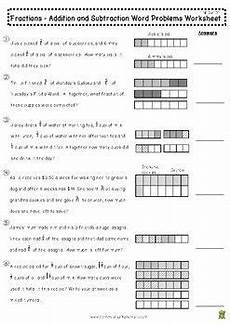 word problem fraction worksheets for grade 6 4250 4th grade math worksheet for 4 nf 3 when you need to teach your how to add and subtract