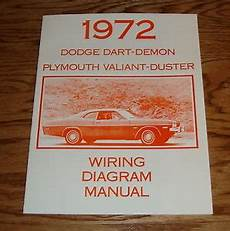 1972 Dodge Dart Plymouth Valiant Duster Wiring