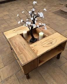 Tisch Aus Weinkisten Bauen 12 Praktische Diy Ideen Und